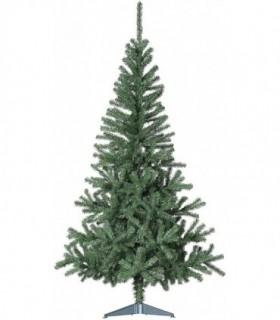 Árbol de Navidad Artificiales - Soporte de Pie Plástico (Verde ECONOMICO, 180CM)