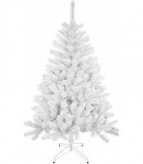 Árbol de Navidad Artificiales - Soporte de Pie Plástico (Blanco, 180 cm)