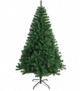 Árbol de Navidad Artificiales - Soporte de Pie Plástico (Verde, 210 cm)