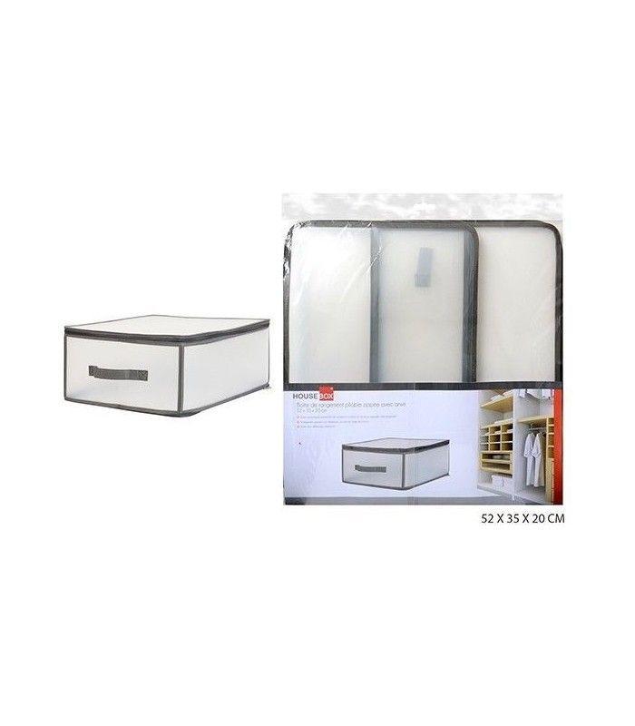 Caja de plastico plegable tienda eurasia for Cajas de plastico plegables