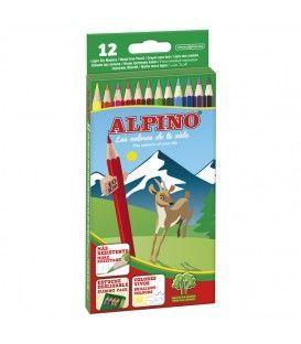 LAPICES ALPINO 12 COLORES