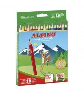 LAPICES ALPINO 18 COLORES