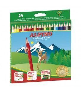 LAPICES ALPINO 24 COLORES