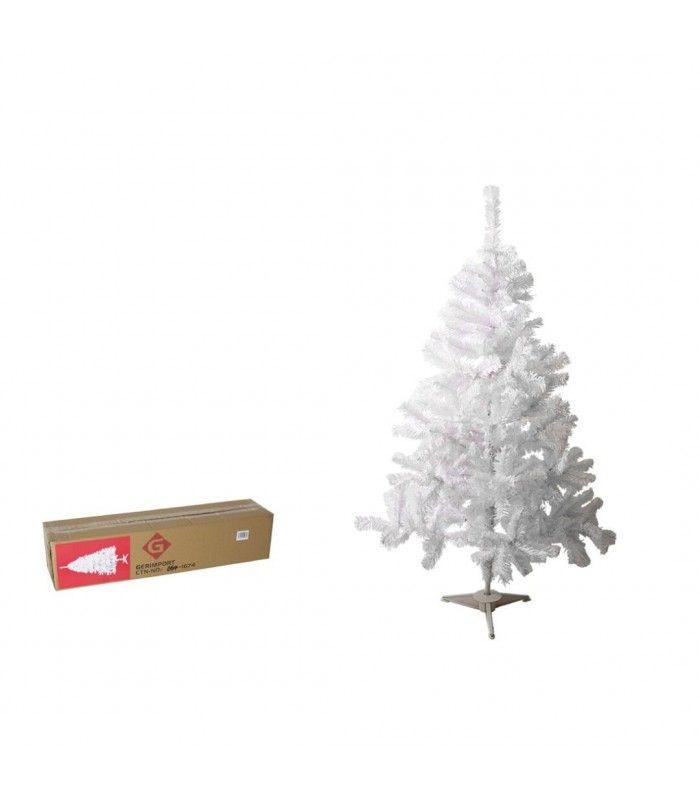 Arbol navidad blanco 257 puntas 150cm tienda eurasia - Arboles navidad blancos ...