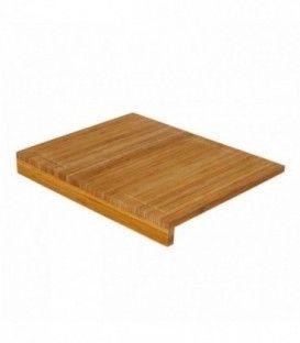 Tabla de cortar nórdica marrón de bambú